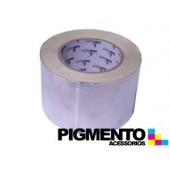 CINTA ISOLANTE DE ALUMINIO 50 mt. X 75mm