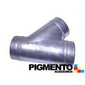BIFURCACAO PARA EXAUSTOR 80mm