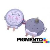 MOTOR GIRAPRATOS MICROONDAS 1 FACE 21V AC (SAMSUNG)