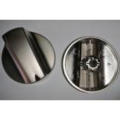 Botão Comando Gas TK03 Metalizado TEKA