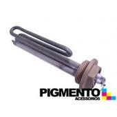 """RESISTENCIA P/ CALDEIRA 800W (ROSCA 1"""" COMP. 16cm.)"""