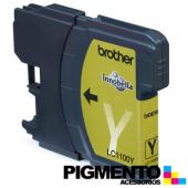 Tinteiro MFC6490CW/DCP6690CW (LC1100Y) Amarelo COMPATIVEL