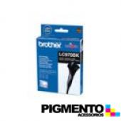 Tinteiro DCP135/150C/MFC235C/260C (LC970BK) Preto COMPATIVEL