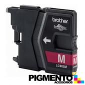 Tinteiro DCPJ125/MFCJ265W/MFCJ410/J315W (LC985M) Magenta COMPATIVEL