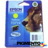 Tinteiro Epson Stylus D78/D92/DX4000/4050/5000/5050 Amarelo COMPATÍVEL