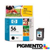 Tinteiro Deskjet 450 Series (C6656A) Num.56 Preto  COMPATÍVEL