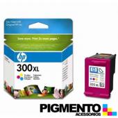 Tinteiro HP Num.300XL (CC644E) com Tinta Vivera 3 Cores  COMPATÍVEL