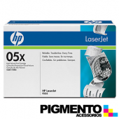 Toner LaserJet P2050/P2055 (CE505X) Preto COMPATIVEL