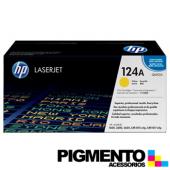Toner HP Laserjet 124A (Q6002A) Amarelo COMPATIVEL