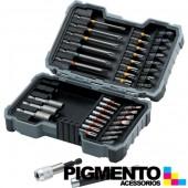 Conjunto de 43 bits para aparafusadora - Bosch 2607017164