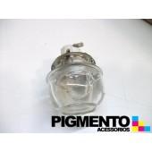 CASQUILHO C/ VIDRO P/ LAMPADA DE FORNO E14