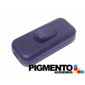 INTERRUPTOR DE PASSAGEM PRETO (PERA) (CYLLUX 8301)