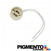 SUPORTE LAMPADA HALOGENIO C/ FIO (GU10-220V)
