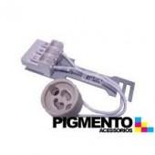 SUPORTE SL90050 P/LAMPADA HALOG. C/ LIGADOR (GU10-220V)