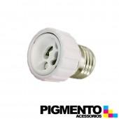 SUPORTE ADAPTADOR DE E27 P/ GU10