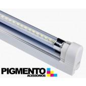 ARMADURA T5 C/ LAMPADA DE LED 23W (150cm.) (SMD2835)
