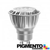 LAMPADA DE LED 4,6W=35W.-100/240V. GU10 (245 LUMEN 2700K)