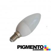 LAMPADA DE LED 3W=25W. 230V. E14 (225 LUMEN 3000K)