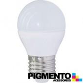 LAMPADA DE LED 5W=35W. 230V. E27 (350 LUMEN 3000K)