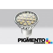 LAMPADA DE LED 3,6W.(=30W.) 230V. GU10 (4200K / 360 Lm.)
