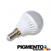 LAMPADA DE LED 5W=35W. 230V. A5 G45 E14 (375 LUMEN / 6400K)